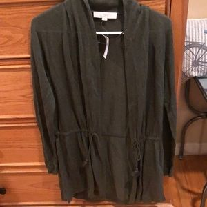 Loft Hunter Green Sweater
